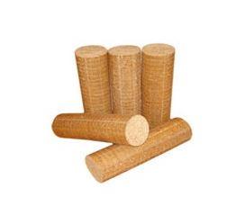 Buches de bois densifiées
